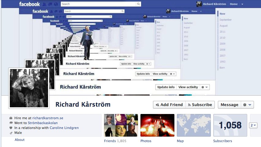 Facebook timeline 36 for O architecture facebook